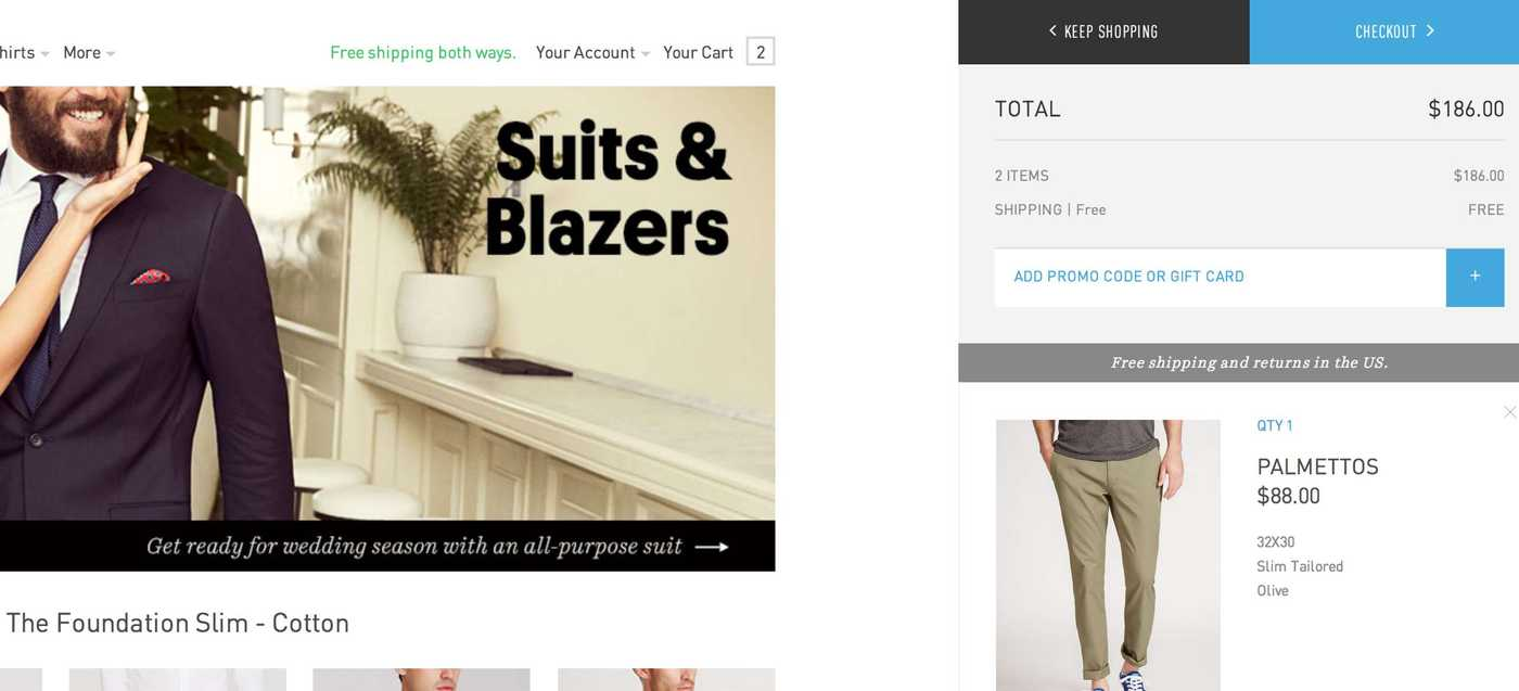 Bonobos Cart Screenshot